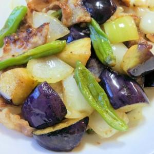 豚肉と野菜のレモン塩炒め