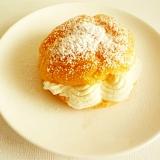 卵1個で簡単 シュークリーム