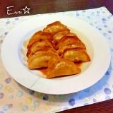 おつまみにも最適☆甘辛酢の揚げ餃子