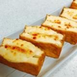 トースターで!厚揚げのねぎマヨチーズ焼き