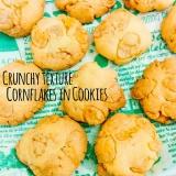 ザクザク食感♡コーンフレークinクッキー