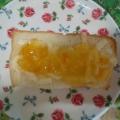 パン耳de柚子茶とココナッツ(練乳)トースト