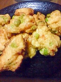 豆腐と枝豆のフワフワ揚げ