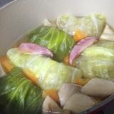野菜たっぷり☆カレー風味のロールキャベツ