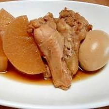 大根と鶏手羽の煮物
