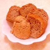 薄力粉で作るりんごのHB玄米御飯パン(2斤)