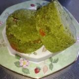 抹茶と干し柿の和風おからスコーン