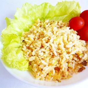 味付きザーサイで簡単チャーハン 搾菜炒飯
