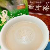ホッと☆抹茶ショコラプーアールミルク♪