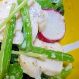 ❤ サラダチキンたっぷり! 野菜サラダ ❤