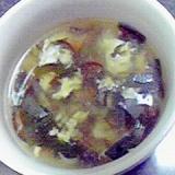 簡単おいしい☆もずく酢でさっぱり酸辣湯♪
