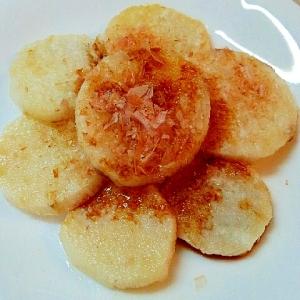 簡単♪長芋のステーキ✿シンプルな醤油おかか味❤