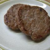 ハンバーガーのパテ