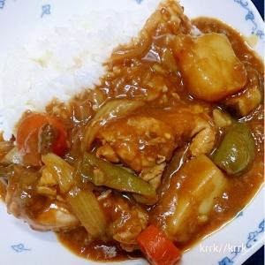 野菜の旨味♪チキンカレー
