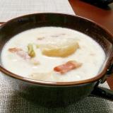 ほっこり優しい☆かぶのミルクスープ