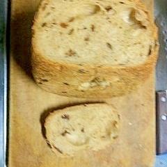 料理下手が作る HBで小麦粉で作るレーズンパン