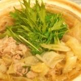 生姜パワーでポカポカ★豚キャベツの中華鍋