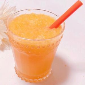 オレンジレモンはちみつソーダ