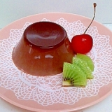 5分→冷蔵で簡単プルン♪ チョコプリン @23円↓