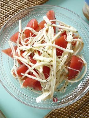簡単!トマトのカプレーゼ風