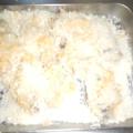 牡蠣のパン粉トースター焼き