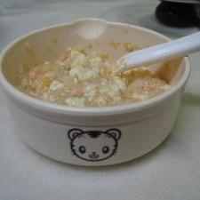 豆腐と人参のお粥