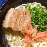 市販の沖縄そば出汁スープで!沖縄そば