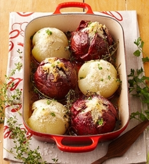 [ル・クルーゼ公式] 玉ねぎの丸ごとオーブン焼き