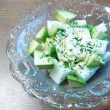 長芋とアボカドのヨーグルトマヨサラダ