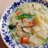 寒い冬の定番!ホタテと野菜のクリームシチュー