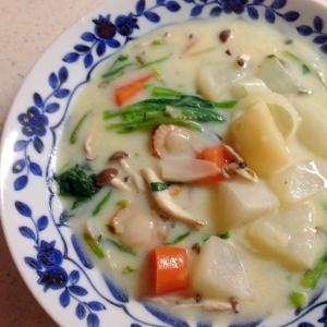 ホタテと野菜のクリームシチュー