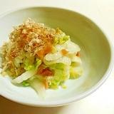 塩を使わずレンジを使う白菜の簡単梅和え