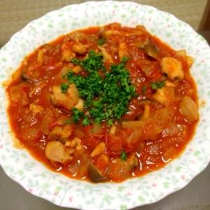 トマト缶で☆鳥肉のトマト煮込み
