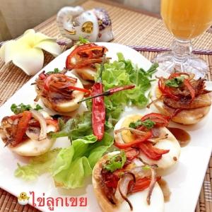 ☆★揚げ卵のタマリンドソース♪★☆