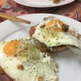 マフィンを使った簡単朝食