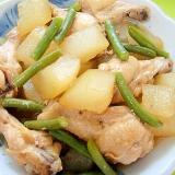 冬瓜と鶏手羽元の煮物