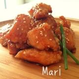 う〜まっ✨柔らかジューシー✨鶏胸肉の甘辛揚げ