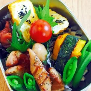 お弁当のおかず☆卵焼き、ウィンナー、野菜いろいろ