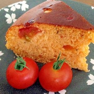 ☆HMと炊飯器でミニトマトの栄養たっぷりケーキ☆