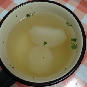 丸ごとカブのコンソメスープ