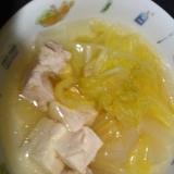 シリコン鍋で簡単!水炊き