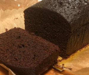 HMで簡単!ハイカカオチョコレートのパウンドケーキ