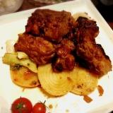 スペアリブのオーブン焼き★ 鶏肉でも♪