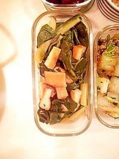 うま菜と油揚げの煮物