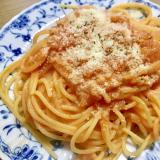 トマトクリームパスタ