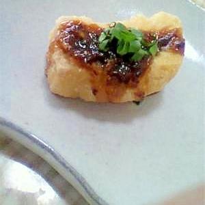 豆腐の揚げ田楽