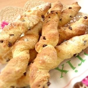 ホットケーキミックスで作るチョコチップクッキーパン