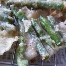 簡単☆いんげんの天ぷら