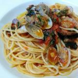 ボンゴレロッソ スパゲッティ