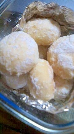 スノーボールクッキー(ブルードネージュ)